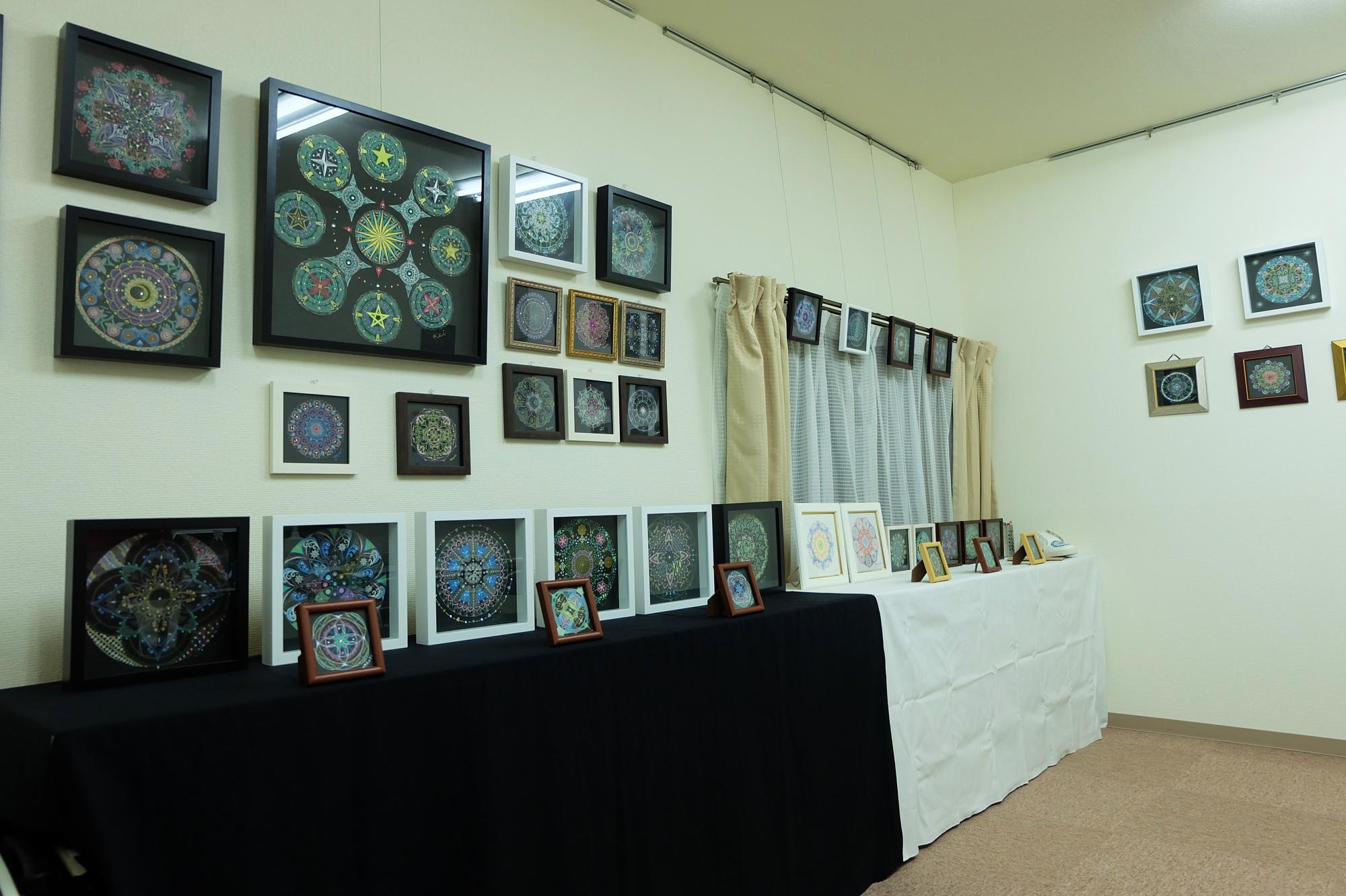 曼荼羅アート展2015を開催しました