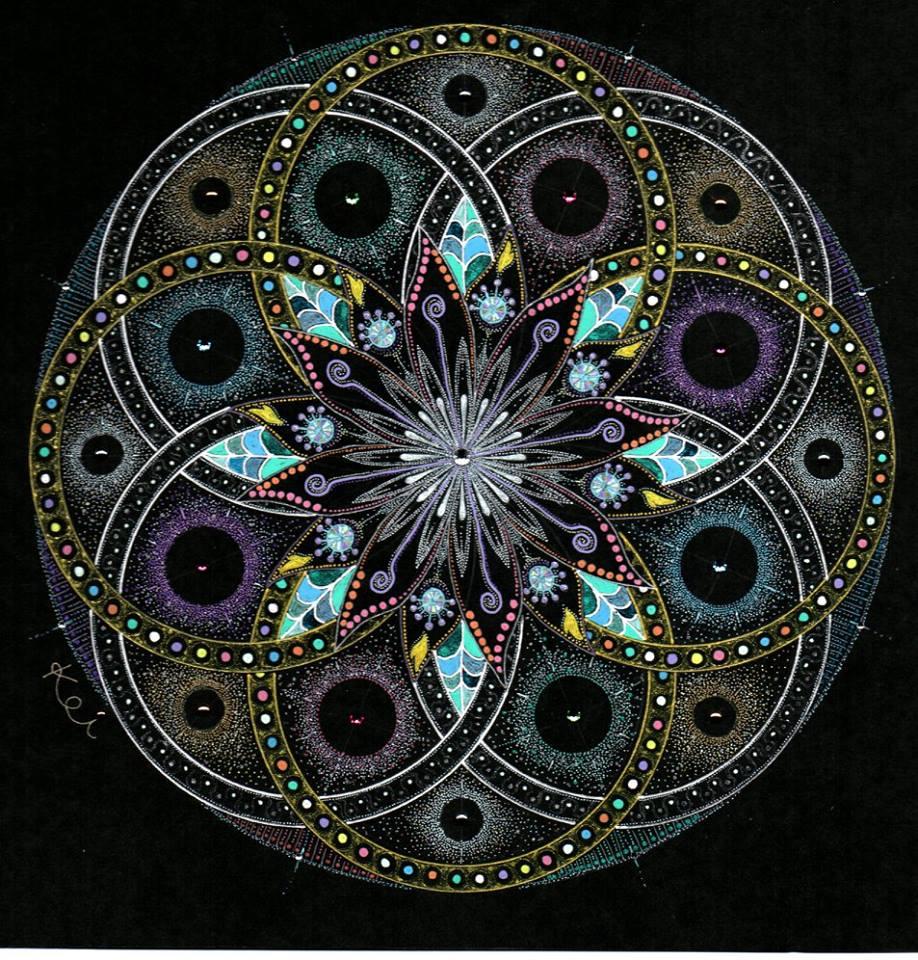 曼荼羅アート 輪