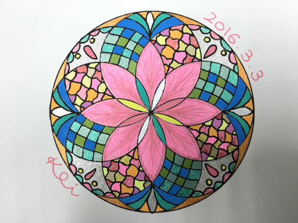 曼荼羅アート作品例