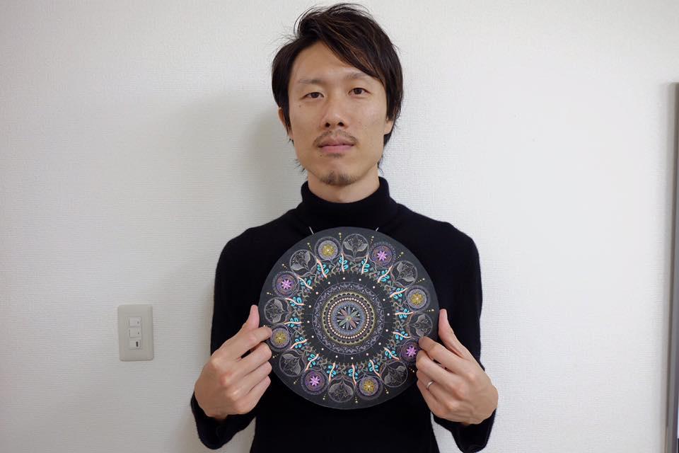 曼荼羅アートと正木啓