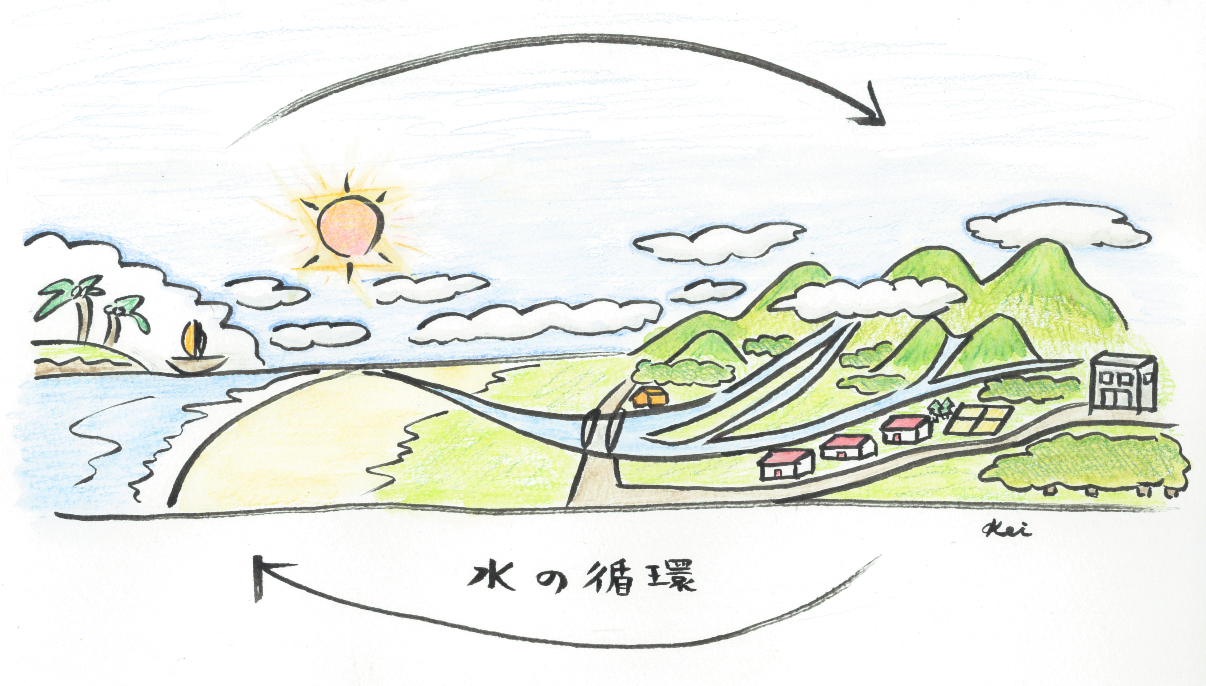 水の循環の仕組み