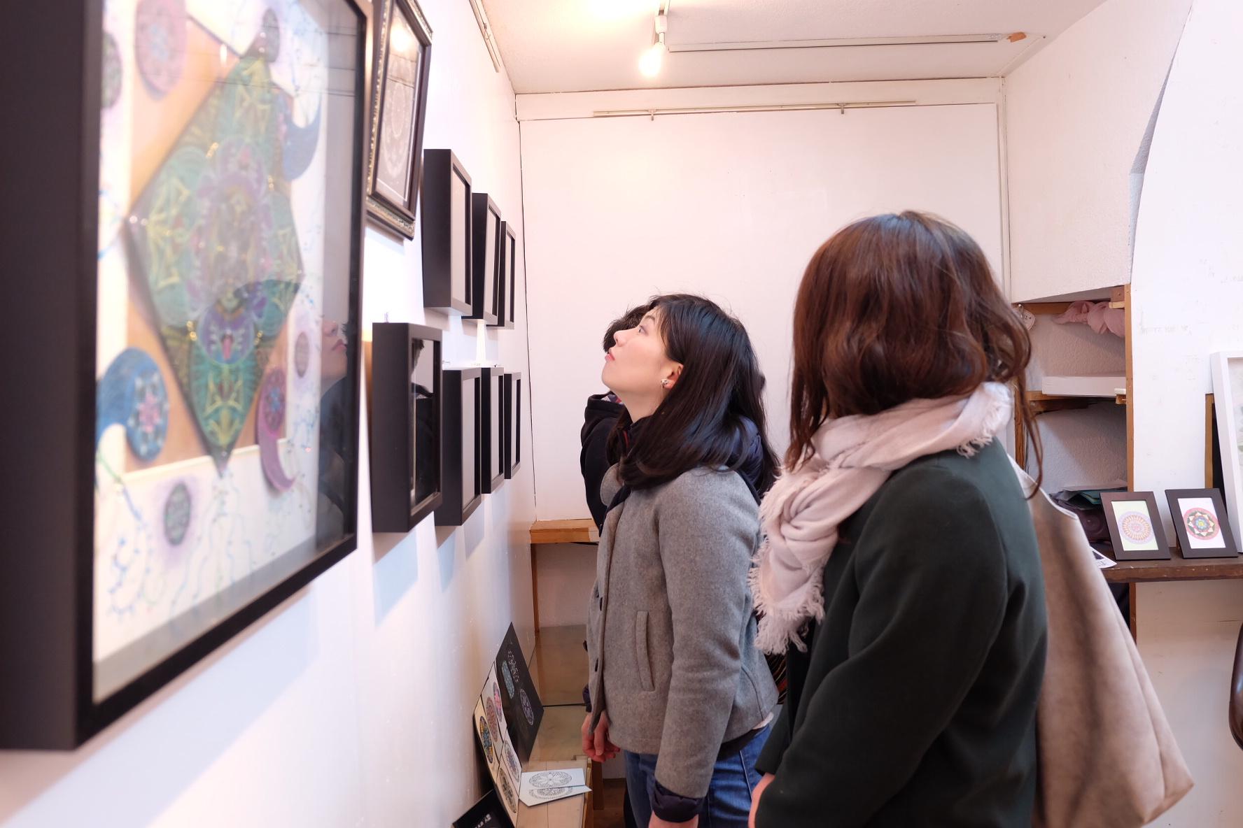 曼荼羅アート展2017を開催しました