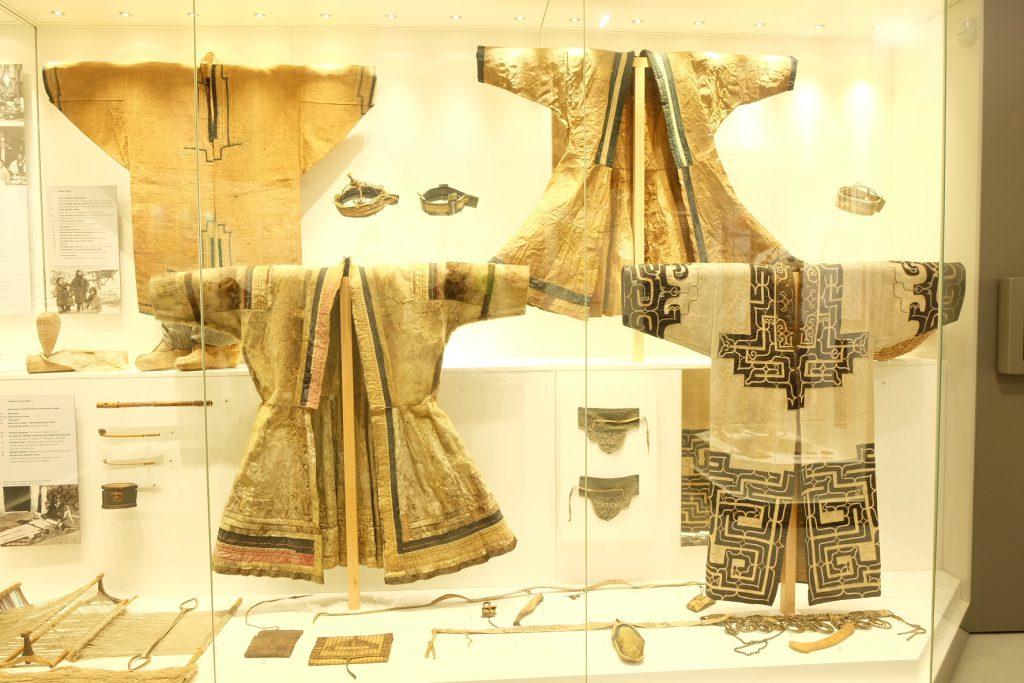 サハリン州郷土博物館の展示