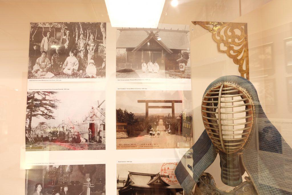 樺太の日本統治時代の展示