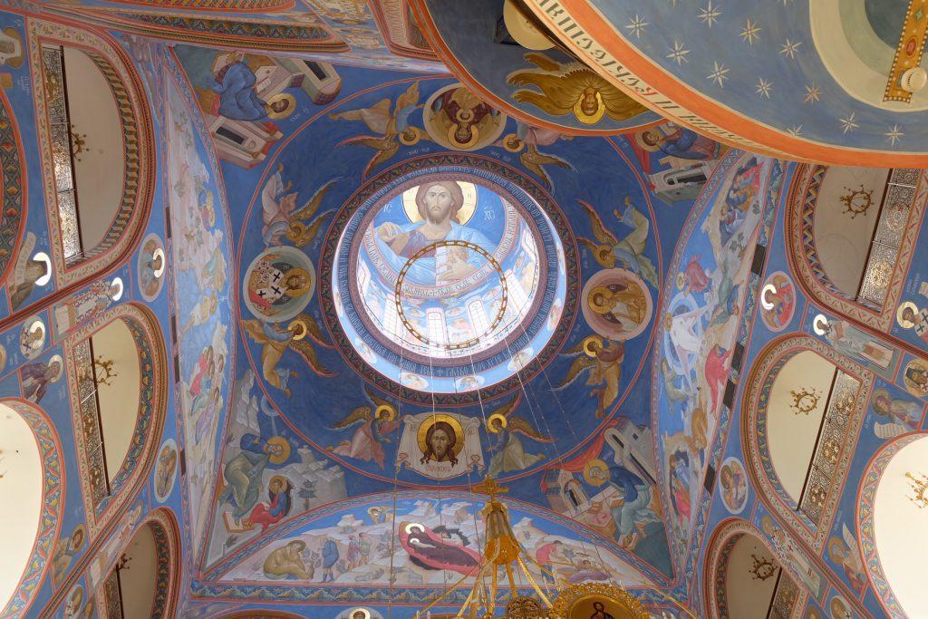 樺太のロシア正教会の綺麗な内装