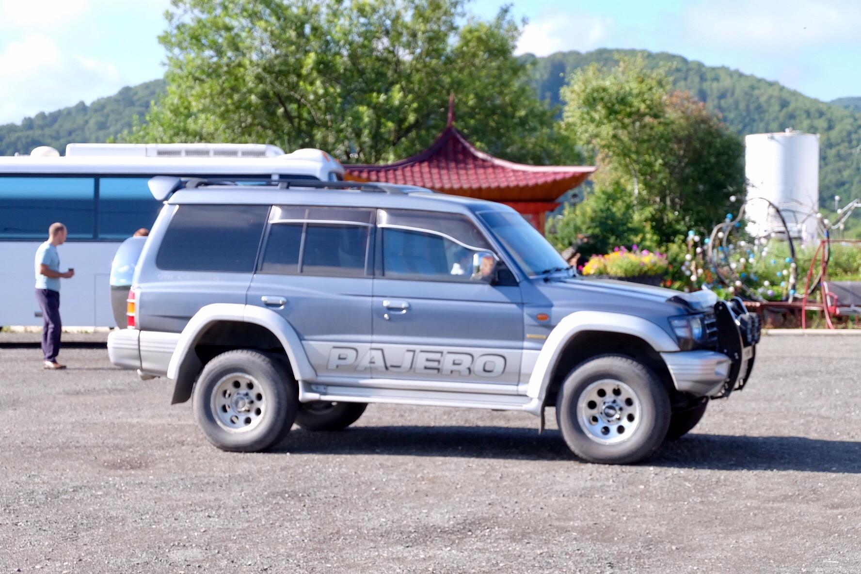 サハリンの日本車