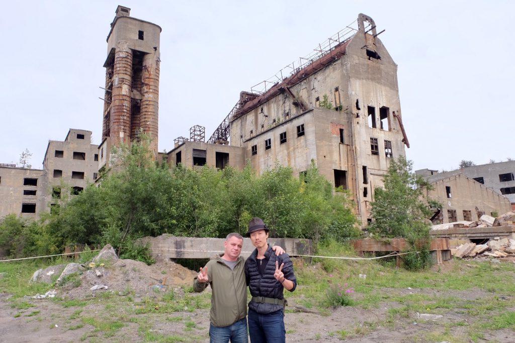 ポロナイスクの王子製紙工場跡