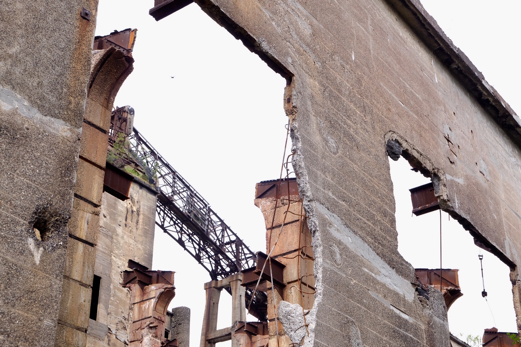 樺太の廃墟