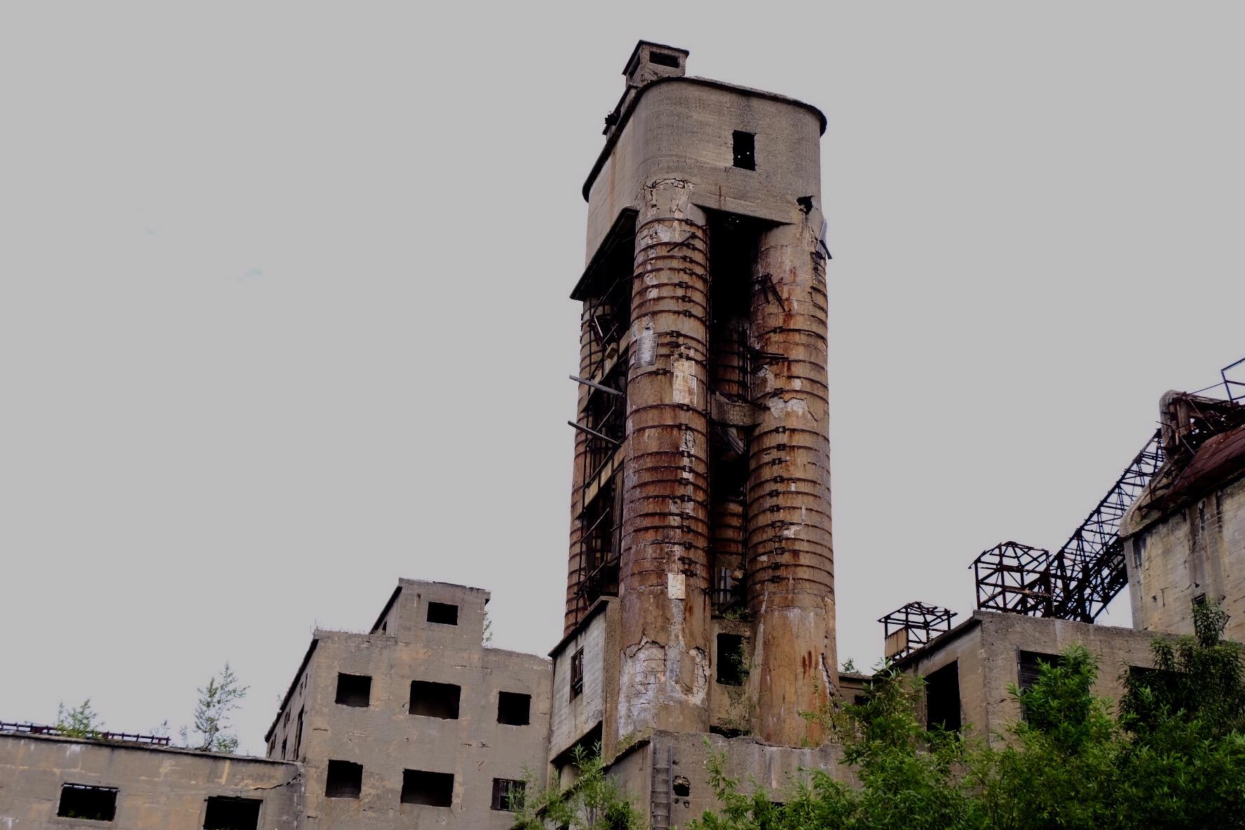 サハリンの廃墟