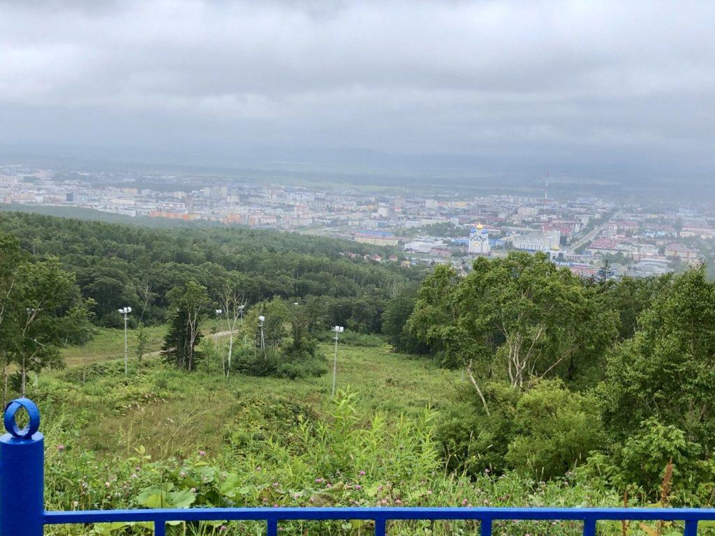 ユジノサハリンスクの景色