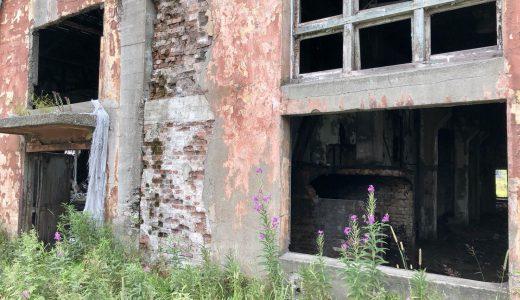 敷香の工場跡