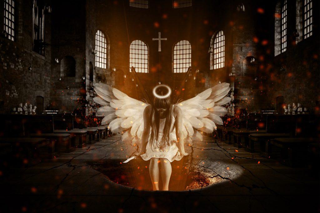 地獄にいる天使
