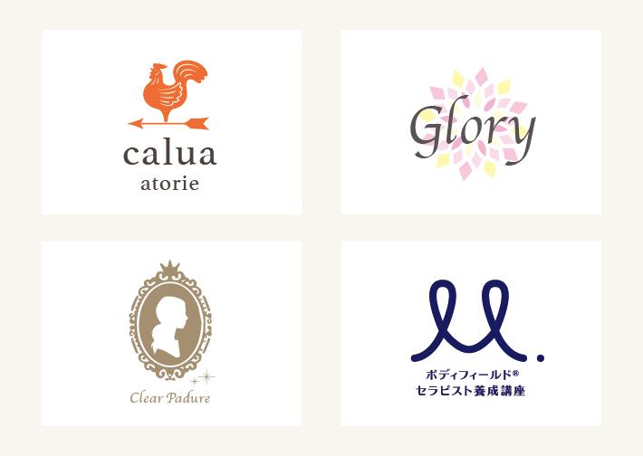 ロゴデザインの制作事例